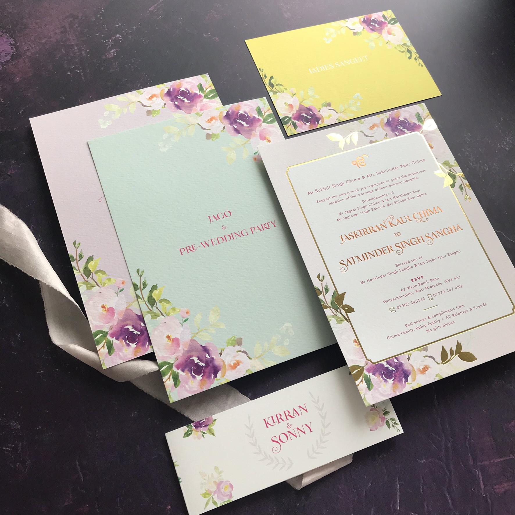 bespoke - Best Asian Wedding Stationery Supplier in UK