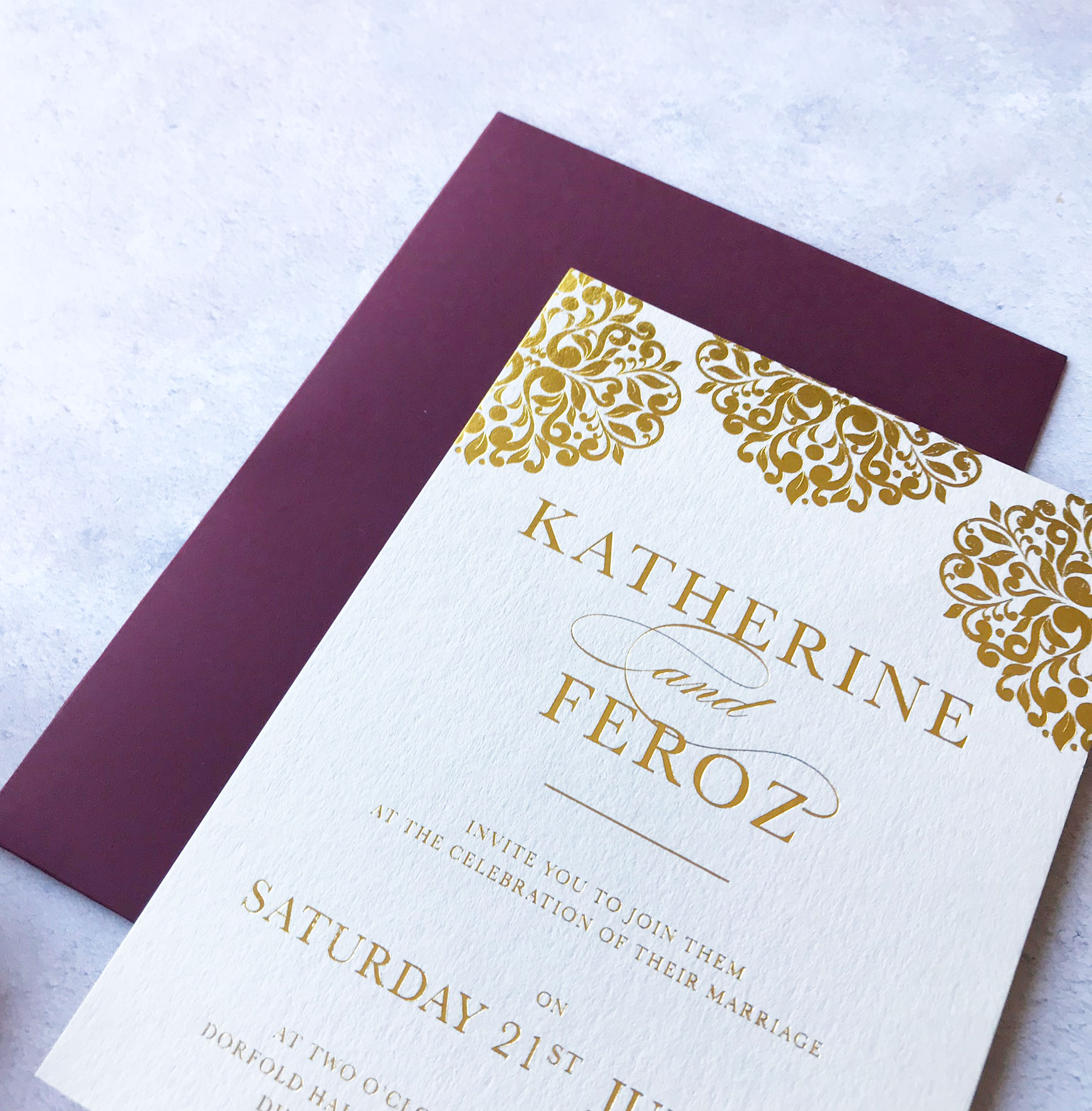 bespoke - Best Asian Wedding Stationery Supplier in UK