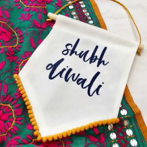 Shubh Diwali with tassel detail