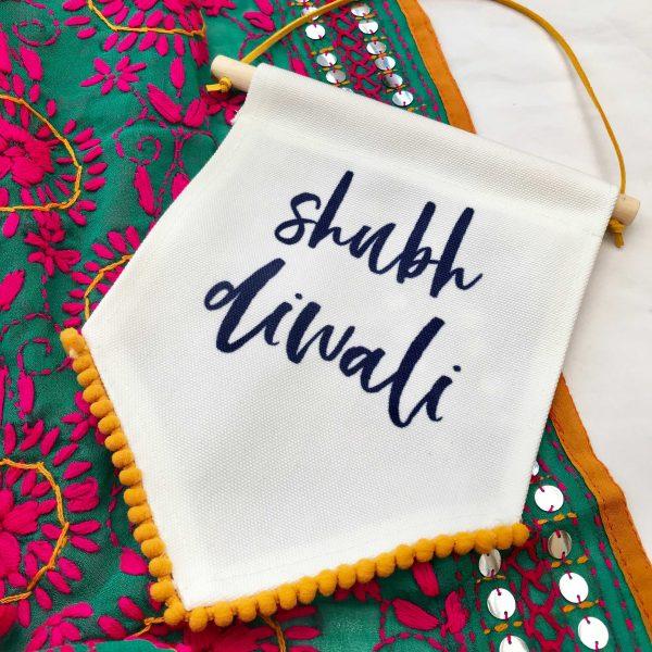 Shubh Diwali with tassel detail